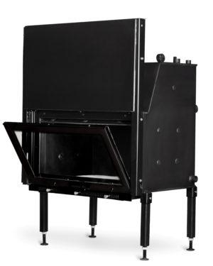 Топка AQUA-750 V LUX 25 кВт, 34 кВт з підйомним механізмом